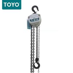 سعر مصنع تويو مقبض 10أطنان سلسلة مرفاع يدوية سلسلة 5م