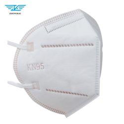Comercio al por mayor 5 telas de alta filtración N95 FFP2 KN95 mascarilla protectora GB2626-2019
