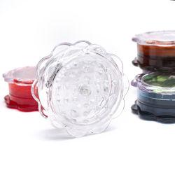 40 mm 3 couches de plastique Herb Meuleuse concasseur de mauvaises herbes