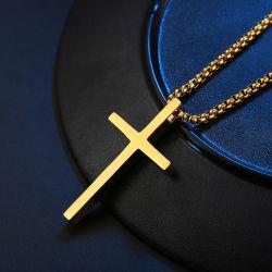 Producto de la moda cristiana excelente delicado Colgante Cruz acero inoxidable para NP-F-DZ209