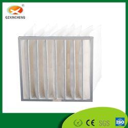 Alta qualidade de fibras sintéticas no bolso do Filtro de Ar