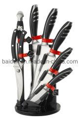 주방용품 및 조리기구 용 8PCS ABS 단조 손잡이 나이프 세트