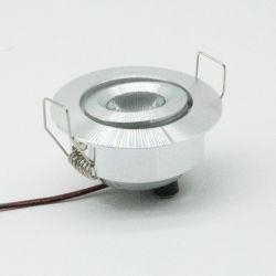 ضوء موضعي لتناول الطعام في المطبخ 3 واط إضاءة مصباح الإضاءة الموضعية الصغيرة LED بقدرة 12 فولت إضاءة سقف 24 فولت