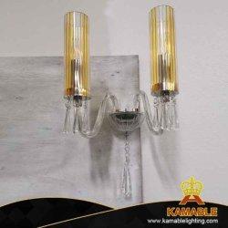 Venda por grosso casa moderna decoração interior candeeiro de parede de vidro cristal (MB02)