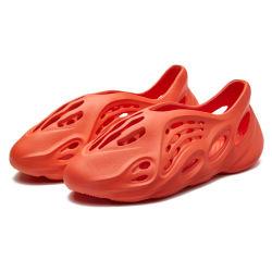الأحذية زلقة شعار مخصص أزياء في الهواء الطلق شاطئ الرجال في الانزلاق في أحذية هولو هول، شرائح ساندالز عداء رغوة اليزيزي