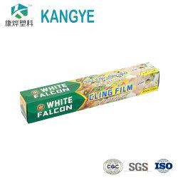 Personnalisable à l'Emballage Alimentaire Rouleaux de film en plastique clair Film Rétractable ronde unique PE