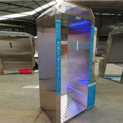 فحص الأمان حماية الهيكل درجة حرارة الهيكل بوابة الأمان حماية الكاشف المعدني البوابة