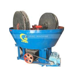 Edge Runner moteur électrique de l'extraction d'Or 1200 Wet Pan Mill