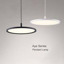 Alta qualidade de luz Pendente Redondas moderna, design simples apenas 2 cm de espessura!