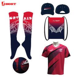 Los niños de alta compresión Aibort Rodilla toalla deporte de equipo de fútbol de la parte inferior de los calcetines de Fútbol (V-SO1 (4)