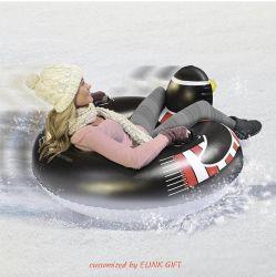 L'épaississement Heavy Duty matériel Snow Tube gonflable Neige Neige traîneau Cercle Ski gonflable Conseil