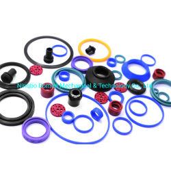 Silicone/NBR verpfändete Dichtungs-Gummiprodukt-O-Ring geformte Gummi-Teil-Gummiöldichtung