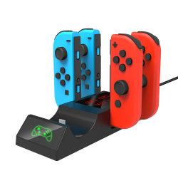 AufladenBasisstation, Ladung-Station-Standplatz, Gebührenanzeige für Nintendo-Schalter-PROcontroller und Freuden-Betrug
