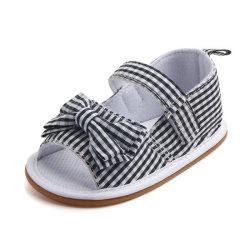 Маленьких девочек плоские сандалии детские соломотрясы принцесса летней обуви Esg11668