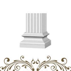 Nach Maß expandierbares Pfosten-Spalte-Kapital des Polystyren-Schaumgummi-ENV römisches