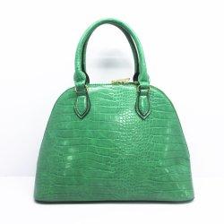 Mehrfachverwendbare Einkaufen-Winter-Frauen-Schulter-Beutel PU-Krokodil-Leder-Großhandelsdame-stilvolle Marketote-Shell-Handtaschen F9022