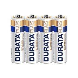 Durata Plus AA 사이즈 1.5V R6 초중부하 작업용 아연 SP4-24의 탄소 드라이 셀 배터리