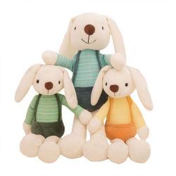 Popular Candy Bunny Plush Juguetes orejas largas Conejo Muñecas niños Regalos de día niños Regalo niños Juguete