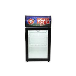 Счетчик верхней части таблицы отображаются холодильник Baverage охладитель для поощрения торговли