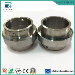 Farbe anodisierte Aluminium-drehenteile, Aluminium 6061 CNC-Maschinen-Teil-hohle Aluminiumbefestigungsteil-Teile