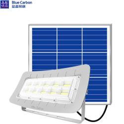 60W SMD безопасности с регулируемой яркостью от резервной батареи аварийного фонаря IP65 наружного освещения на солнечной энергии Светодиодный прожектор