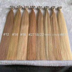 Parti di trama del gruppo del tessuto dei capelli legate mano spessa dell'estremità dissipate doppio di estensioni dei capelli umani di alta qualità