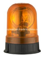 Llevar la parte superior de policía de la luz ámbar intermitente baliza de emergencia Lámpara halógena de rotación de la luz de advertencia de la luz estroboscópica con CE