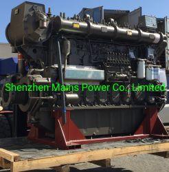1800HP 1000RPM Yuchai Marine moteur 8cylindres 1800HP moteur diesel principal