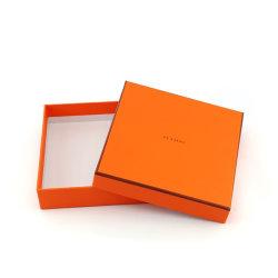 Fabricante de Shanghai vacía de lujo pañuelo pañuelo Embalaje Caja de regalo con logo personalizado