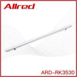 Slim moderno lineal LED de color blanco y negro de LED de iluminación de suspensión de la vivienda de la fábrica de Guangdong Iluminación LED para oficina