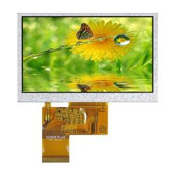 شاشة LCD TFT RGB عالية الجودة مقاس 4.3 بوصة 24 بت مقاومة للمس وحدة اللوحة شاشة USB Power LCD