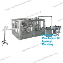 3 em 1 Caixa de garrafa pet bebida potável Lavagem de Aço Inoxidável Água Mineral enchendo o nivelamento da máquina de vedação e máquina de Vedação