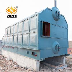 4000 Кг/ч Промышленный Укомплектованный Водотрубный Паровой Котел на Пеллетах из Биомассы