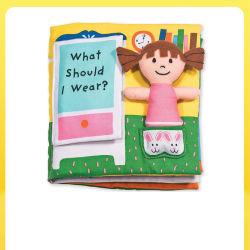 Personalizar el sonido de la cinta bebé servilletas de papel Libro Sanos y salvos de Educación Temprana para Bebés juguetes educativos de la libreta de tela
