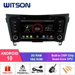Четырехъядерные процессоры Witson Android 10 DVD плеер GPS для Nissan Qashqai 2014-2017 1080p HD видео в TPMS/DVR/функции БОРТОВОЙ СИСТЕМЫ ДИАГНОСТИКИ