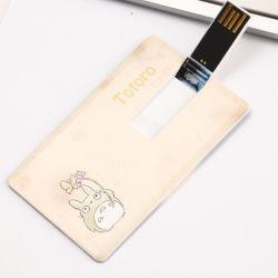 Unidade Flash USB USB2.0 Custom 4 GB 8 GB de 16GB, 32GB, 128g Cartão de negócios de alumínio da unidade de memória flash USB