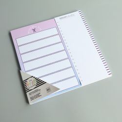Notitieboek Notepad Notebook 160 pagina's A4 Navulling Pads Bloc Opmerking vulpad voor papier