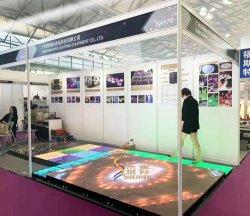 P6.25 интерактивный светодиодный экран чувствительных плитки пола видео