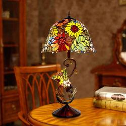 Bureau Art Déco de Vitraux grand Vintage lampe de table Tiffany (WH-TTB-01)