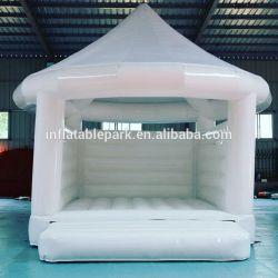 Надувные белые прыгающие замок надувной упругие дом замки надувные Bouncer перемычки для детей