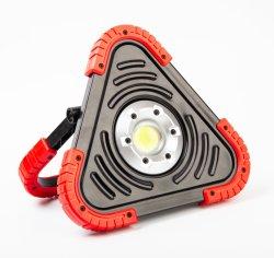 Многофункциональная початков рабочего освещения, 20W 1500 лм аккумулятор яркий прожектор с треугольник