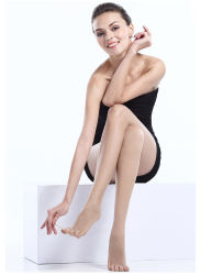 Vrouwen korte rok zijde kousen naadloze Pantyhose vijf toe Pantyhose Dun
