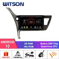 """Witson 10.2 """" Toyota Corolla 2017년을%s 큰 스크린 인조 인간 10 차 DVD"""