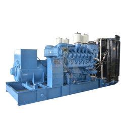 Mtu 엔진을%s 가진 시장 사용 열려있는 유형 2000kw 발전기 디젤 엔진 발전기 세트