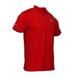 맞춤형 여름 패션 남성용 슬림 레드 폴로 셔츠