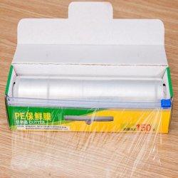 Deslize o cortador de preços grossistas de fábrica extensível melhor comida fresca Wrap de PE transparente Filme