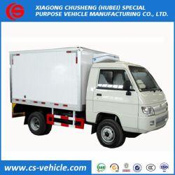 Foton Camion 4x2 Aliments réfrigérés 2 tonnes de viande congélateur chariot utilisé petit congélateur Chariot de transport pour la vente