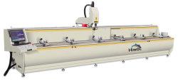 Centro de maquinagem CNC 3 eixos para o perfil de alumínio Porta de vidro de alumínio perfil de alumínio da máquina de laminação e máquina de perfuração Máquina na parede lateral de alumínio