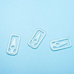 [Sinfoo] de Plastic Vierkante Klem van de Verpakking van de Kleding (cd019-5)