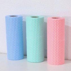 Spunlace desechables Nonwoven Fabric barrido Limpieza